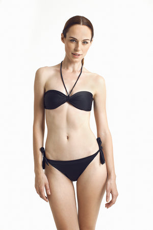 Zanzibar Bandeau - Black - August Society  - 3