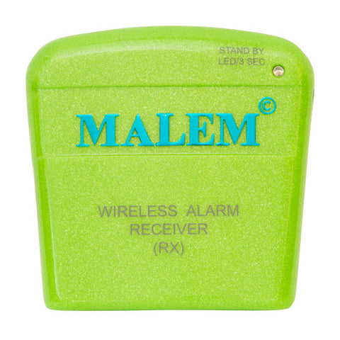 MO12 Green Malem Wireless Enuresis Bedwetting Alarm Receiver front
