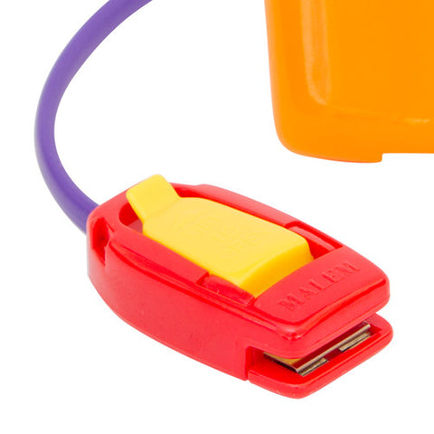 MO3 Orange Malem Wearable Enuresis Bedwetting Alarm with closed clip