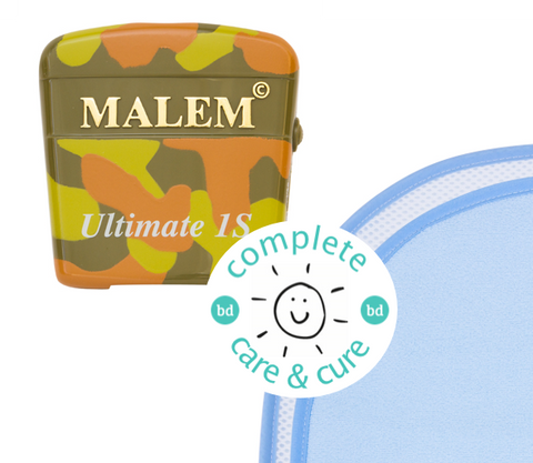 Complete Care & Cure Ultimate Selectable Bundle - Malem Ultimate Selectable Alarm + The Waterproof Bed Sheet