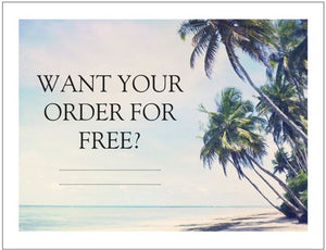 Want your order of barefoot sandals for FREE? Read on to find out how...