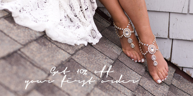 Get 10% off your first barefoot sandals pair
