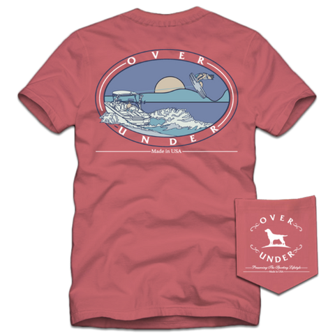 Over Under - On The Road Again SS Tee - Beachwash