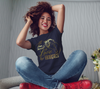 """All You Need is Love & Horses"" Horse Lovers Women's Navy Slim-Fit T-Shirt"