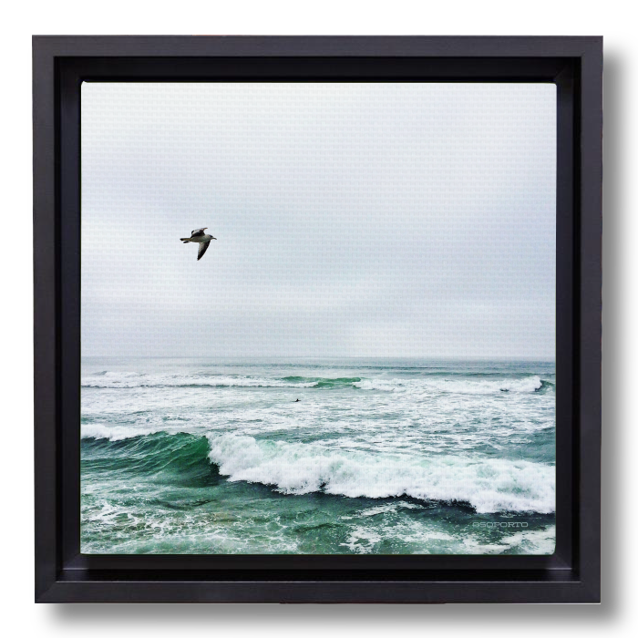 By Sea or By Air canvasbox
