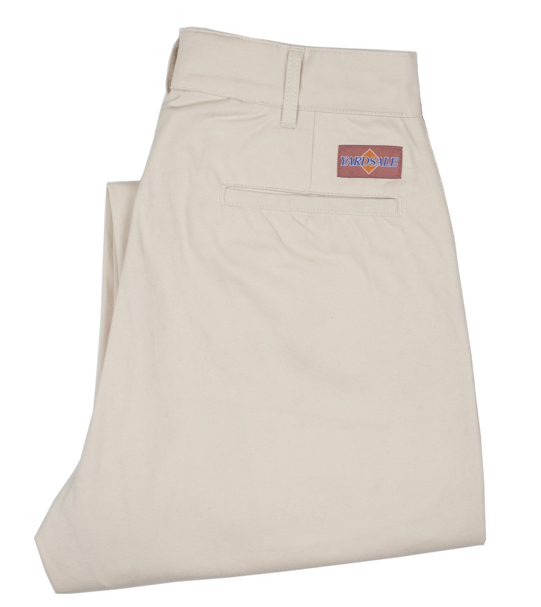 Cream slacks