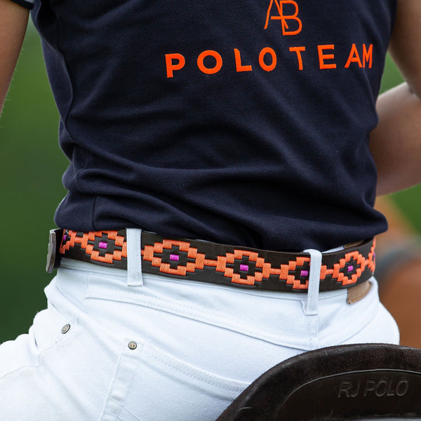 AB Polo belt - Orange - Annabel Brocks