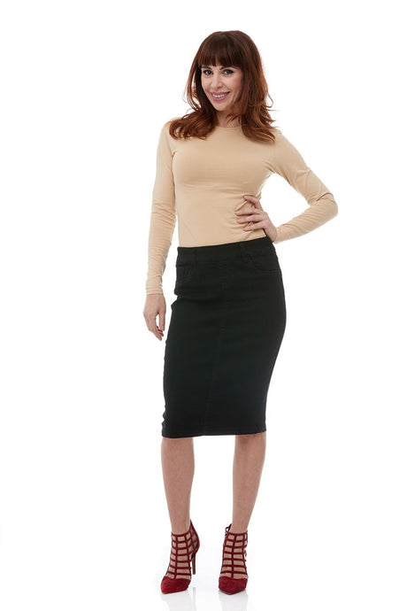 Brooklyn Skirt, Black
