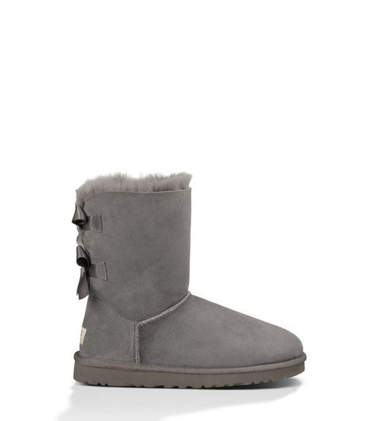 UGG Bailey Bow (Grey)