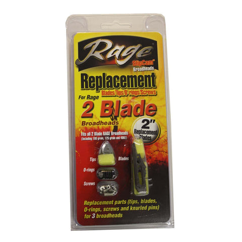 Rage Replacement Blade Kit Hypodermic