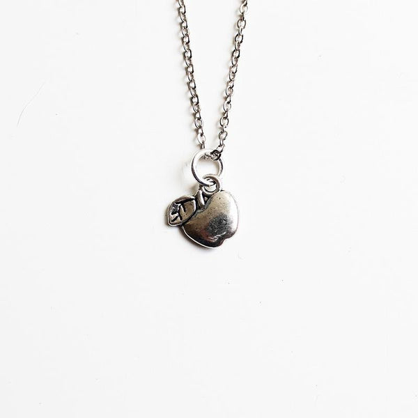 Shorties Bling Necklace - Apple