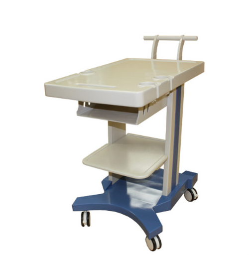 KM-4 Universal Ultrasound Trolley - Deals on Veterinary Ultrasounds  - 1