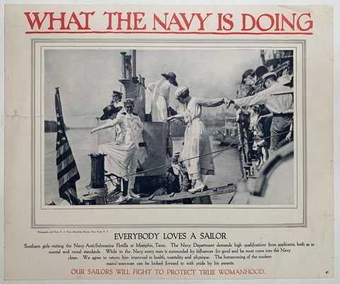 What the Navy is Doing / Everybody Loves a Sailor