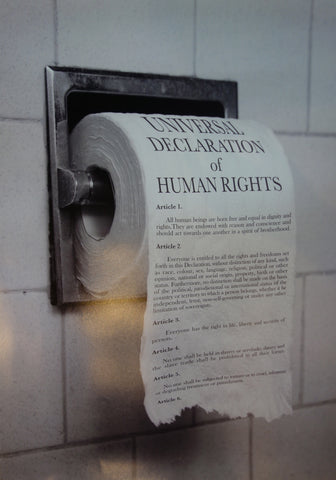 Toilet Paper of Human Rights