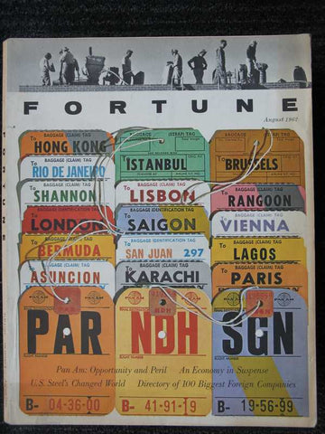 Fortune August 1962