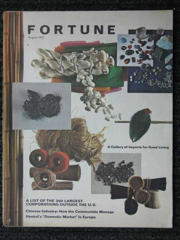 Fortune August 1972