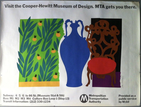 MTA Museum of the Cooper-Hewitt of Design