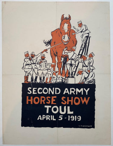 Second Army Horse Show Toul April 5 - 1919