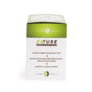 EnFuse | Energy Infused Coffee Pods