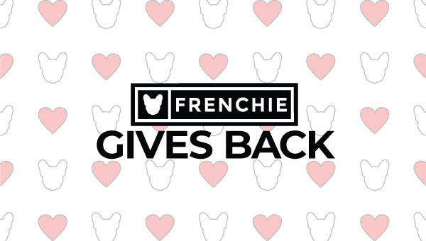 Frenchie Gives Back: GSPCA
