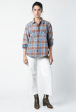 R13 Grunge Plaid Shirt / Shop Super Street - 2