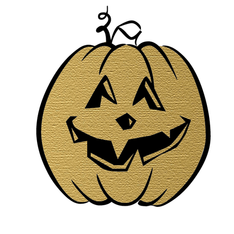 Halloween Party: Pumpkin (Gold) - Kromebody