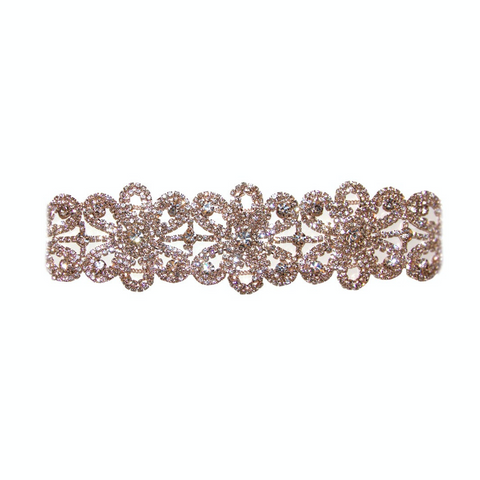 Royal Floral Choker - Melroso Jewelry