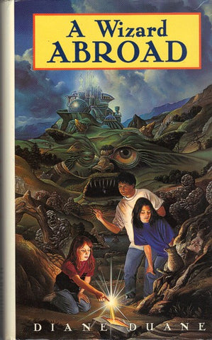 A Wizard Abroad (Original Harcourt small format hardcover)
