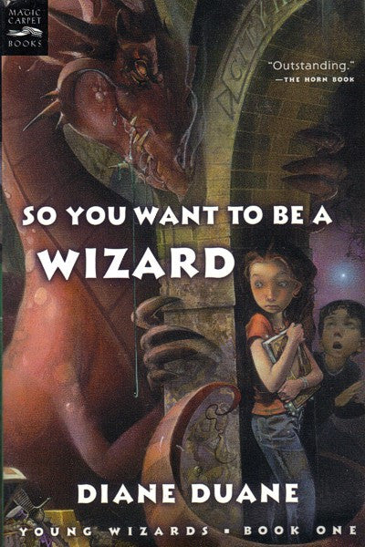 So You Want To Be A Wizard (Harcourt digest paperback), final mint copies
