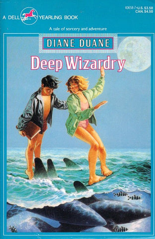 Deep Wizardry (Dell Yearling Edition paperback)