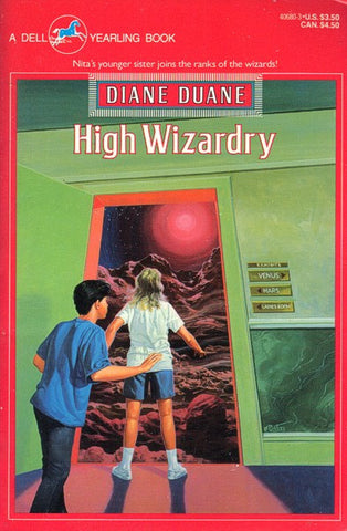 High Wizardry (Dell Yearling pb), final mint copies