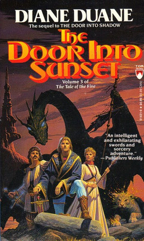 The Door Into Sunset mmpb (mint / personalized), final copies