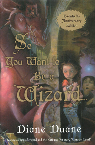 So You Want To Be A Wizard 20th Anniversary Edition (mint / personalized), final copies