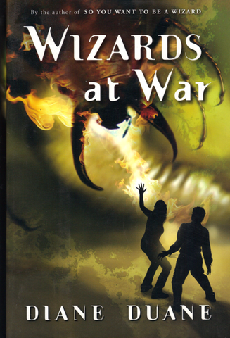 Wizards at War, mint / first edition hardcovers, final copies, signed and personalized