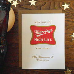 Marriage High Life