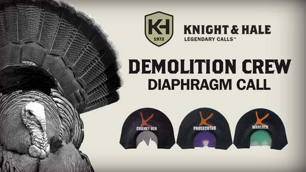 KNIGHT & HALE DEMOLITION CREW MOUTH CALLS - 3 PACK