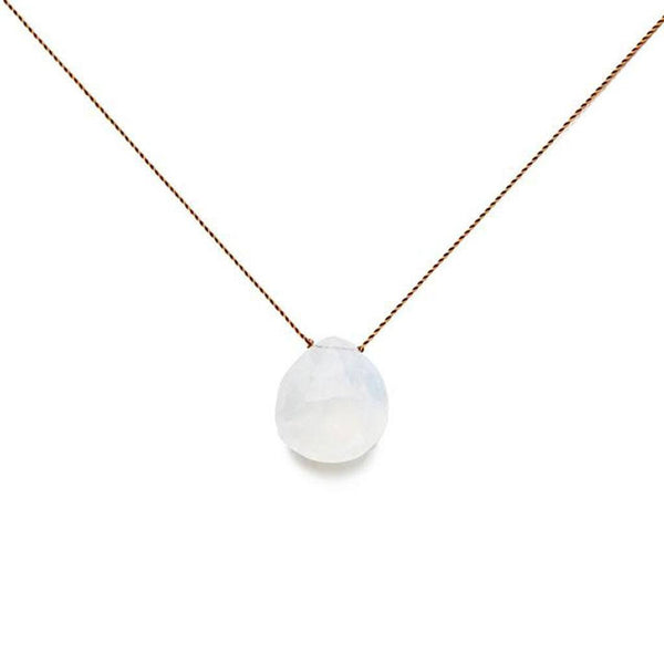 Moonstone Stone On A String