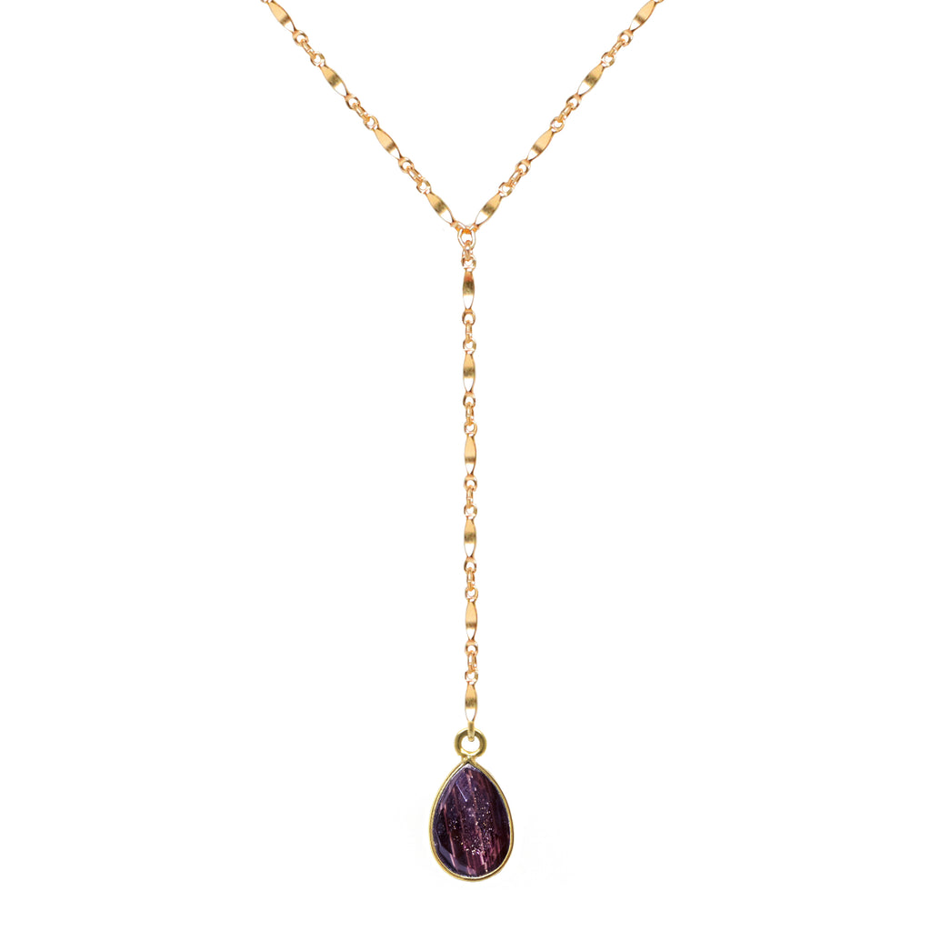 Purple Shimmer Lariat
