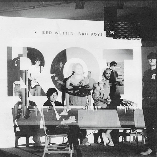 Bed Wettin' Bad Boys - Rot   (LP / CD)