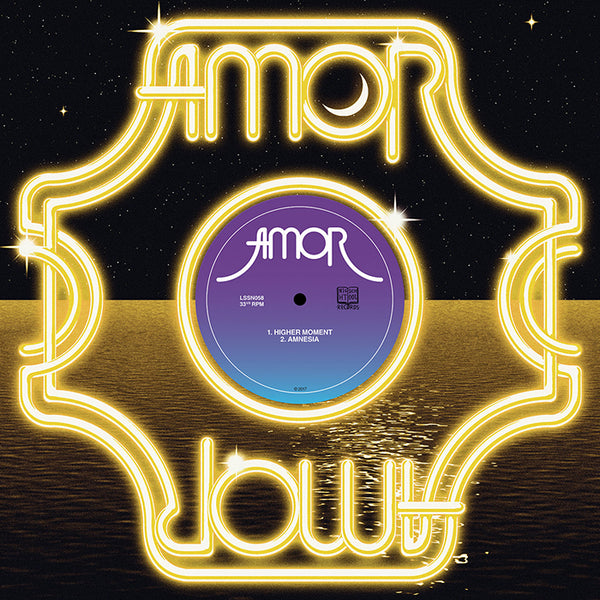 AMOR - HIGHER MOMENT / AMNESIA (LP)