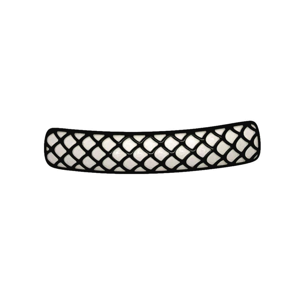 3D Patterned Barrette-Barrettes-Ooh La La!-Monochrome Lace-Tegen Accessories