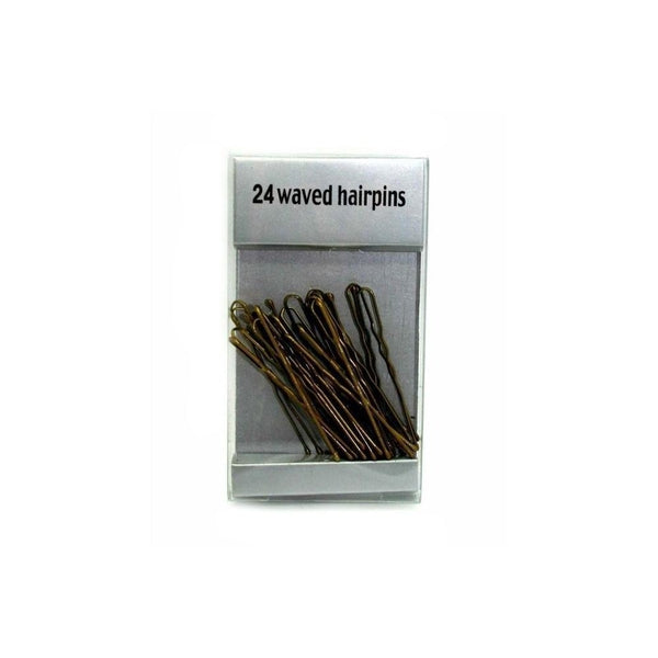 Blonde Waved Hair Pins-Chignon pins-Tegen Accessories-5cm-Blonde-Tegen Accessories