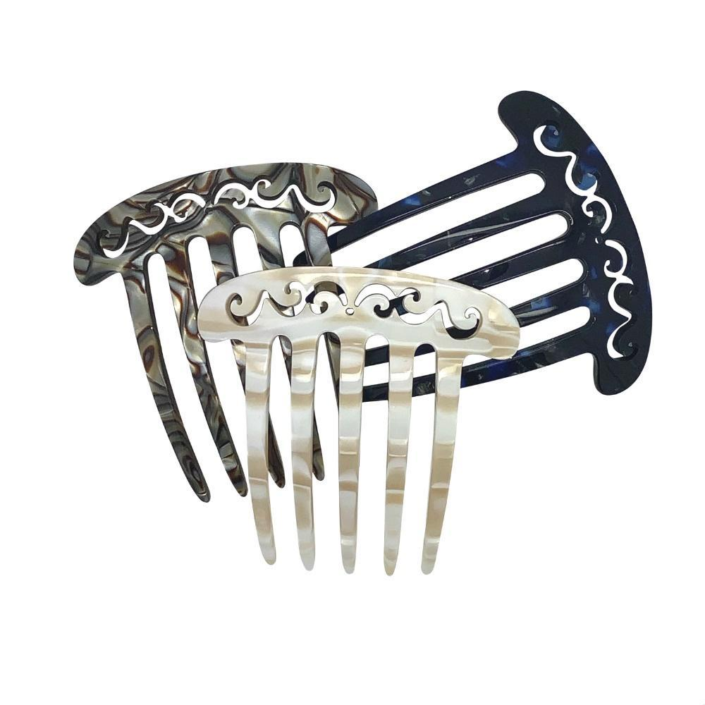 Small Filigree French Pleat comb-Hair combs-Ooh La La!-Tegen Accessories