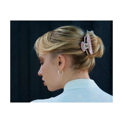 Small Marble Hair Claw-Discontinued-Tegen Accessories