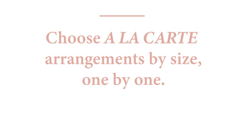 Choose A La Carte