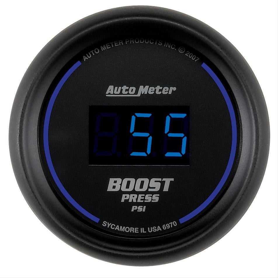 Autometer Cobalt Digital Series Boost Gauge