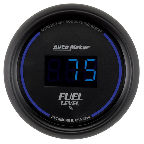 Autometer Cobalt Digital Series Fuel Level Gauge