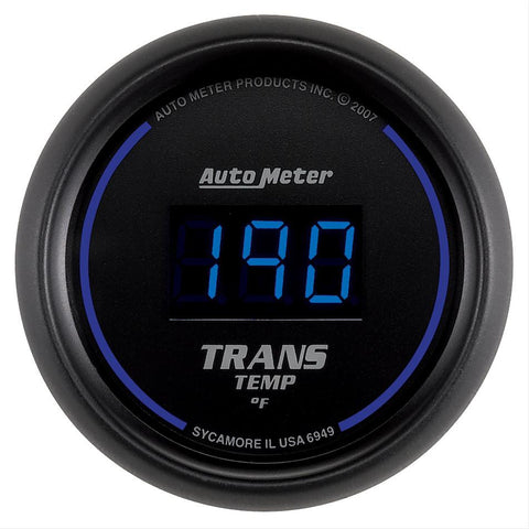 Autometer Cobalt Digital Series Transmission Temperature Gauge