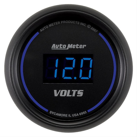 Autometer Cobalt Digital Series Voltmeter