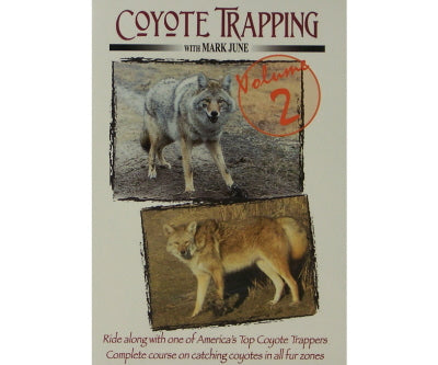 Coyote Trapping DVD/Video - Vol. 2 - Southern Snares & Supply